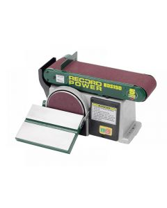Record Power BDS150 Belt Disc Sander 152 x 101mm (6 x 4in) BDS150