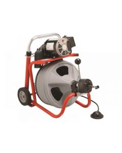 Ridgid K-400 AUTOFEED Drum Machine with C-32IW (Integral Wound) Solid Core Cable 28098