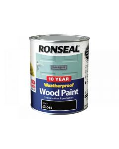 Ronseal 10 Year Weatherproof 2-in-1 Wood Paint Range