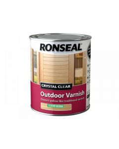 Ronseal Crystal Clear Outdoor Varnish Range
