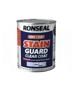 Ronseal Stain Guard Clear Coat Matt Range