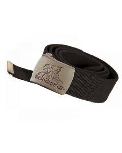 Roughneck Black Heavy-Duty Woven Belt