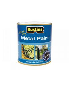 Rustins Quick Dry Metal Paint Smooth Satin Range