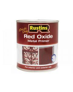 Rustins Quick Dry Red Oxide Metal Primer Range