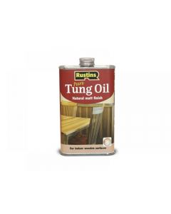 Rustins Tung Oil Range
