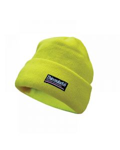 Scan Hi-Vis Yellow Beanie Hat Thinsulate Lined