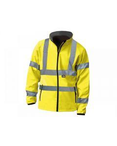 Scan Hi-Vis Yellow Soft Shell Jacket Range