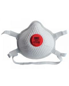 Scan Moulded Valved Masks FFP3 with Mesh (Pack 2)