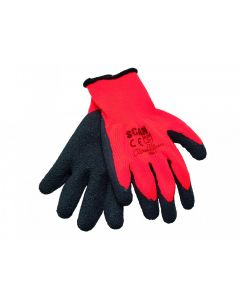 Scan Orange/Black Knitshell Thermal Gloves (Pack 5)