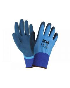 Scan Waterproof Latex Gloves Range