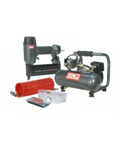 Senco Finish Pro18 Nailer & Compressor Kit Range