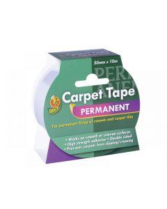 Shurtape Duck TapePermanent Carpet Tape 50mm x 10m