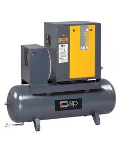 SIP Mercury Tronic 4.0-08-200-ES Screw Compressor w/ Dryer