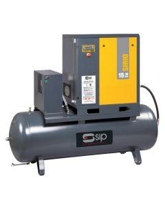 SIP Sirio 11-10-500ES Screw Compressor w/ Dryer