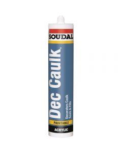 Soudal Dec Caulk - 300ml - White