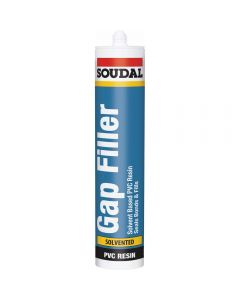 Soudal PVCu Gap Filler - 300ml - White