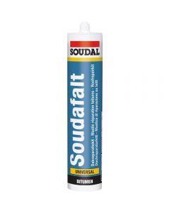 Soudal Soudafalt - Roof & Gutter Sealant - 300ml - Black