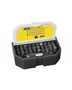 Stanley Bit Set & Holder 31 Piece