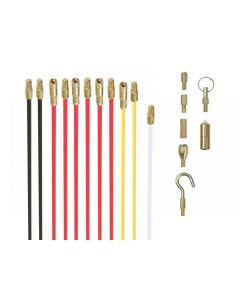 Super Rod Cable Rods 10m Deluxe Set with 8 Attachments