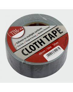 TIMco Cloth Tape - Silver Range
