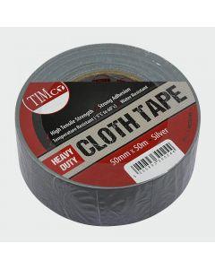 TIMco Heavy Duty Cloth Tape - Silver Range