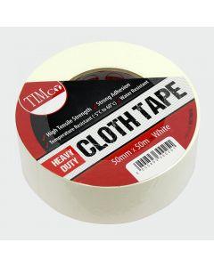 TIMco Heavy Duty Cloth Tape - White Range