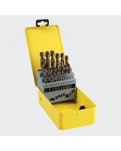 TIMco HSS-G Bit Set 1-13mm - Cobalt Range