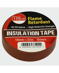 TIMco PVC Insulation Tape - Brown Range