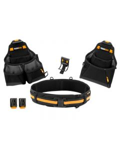 ToughBuilt Builder Tool Belt Set 4 Piece TB-CT-102-4