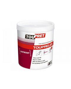 Toupret TOUPRELEX Exterior Fast Drying Lightweight Filler 1kg
