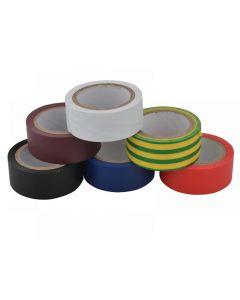 Unibond Electrical Tape (6 Colour Pack) 19mm x 3.5m