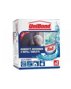 Unibond Small Moisture Absorber Power Tab Refill Range