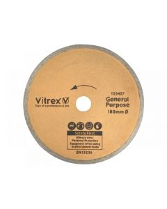 Vitrex Diamond Blade Standard 180mm 103407