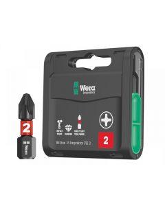 Wera Bit-Box 15 Impaktor PH2 x 25mm 15 Piece