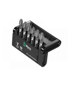 Wera Bit-Check 6 Impaktor 1 Pozi 6 Piece Set Range