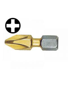 Witte Phillips Titanium Screwdriver Bits 25mm Range