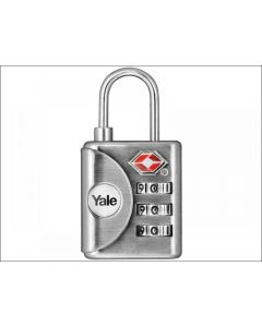 Yale Locks YTP1 TSA Combination Padlock 32mm
