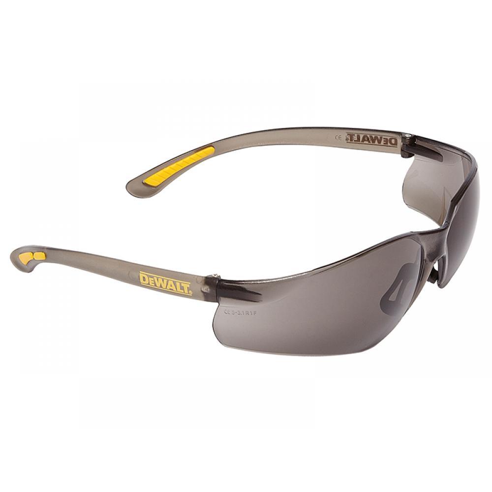 DeWalt Contractor Pro ToughCoat Safety Glasses - Smoke DPG52-2D