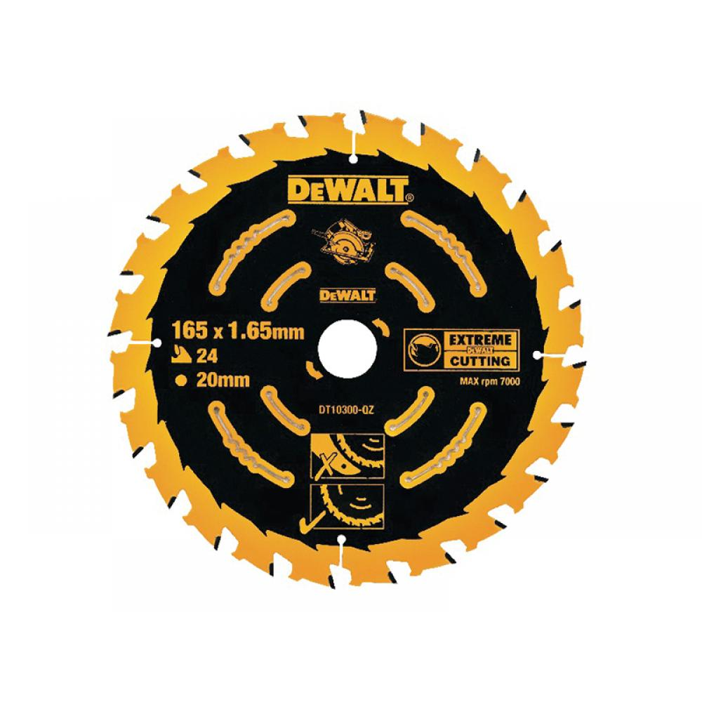 DeWalt Extreme Framing Circular Saw Blade 165 x 20mm x 40T DT10301-QZ