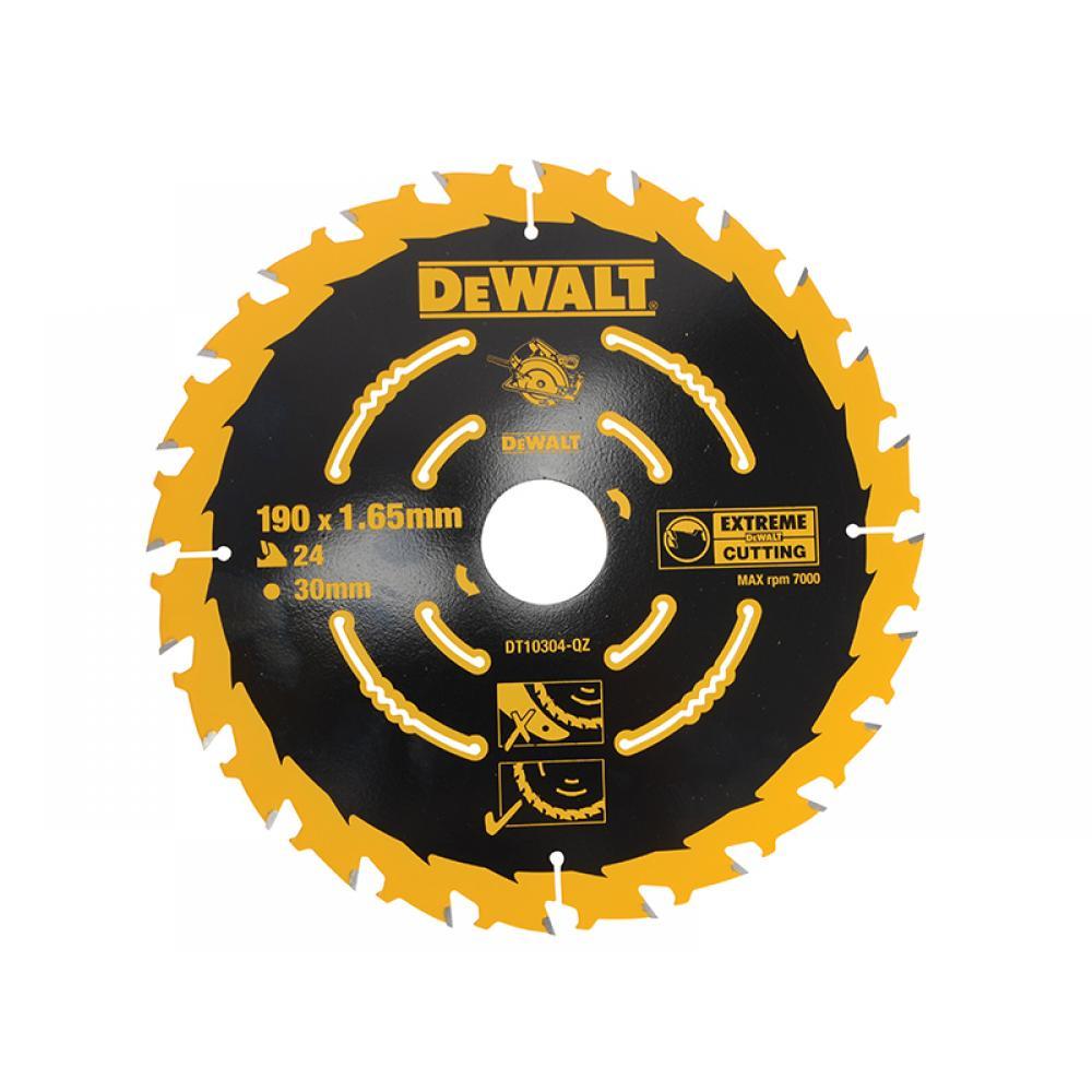 DeWalt Extreme Framing Circular Saw Blade 190 x 30mm x 24T DT10304-QZ