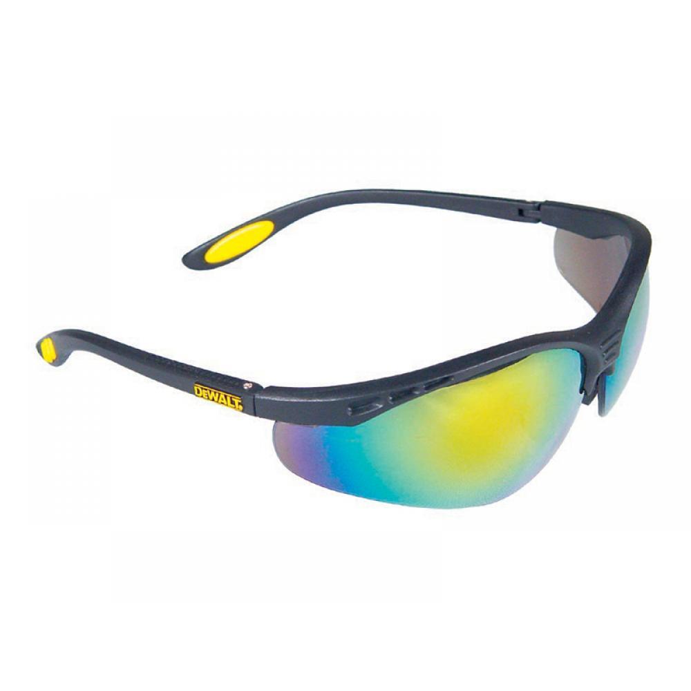DeWalt Reinforcer Safety Glasses - Fire Mirror DPG58-6D