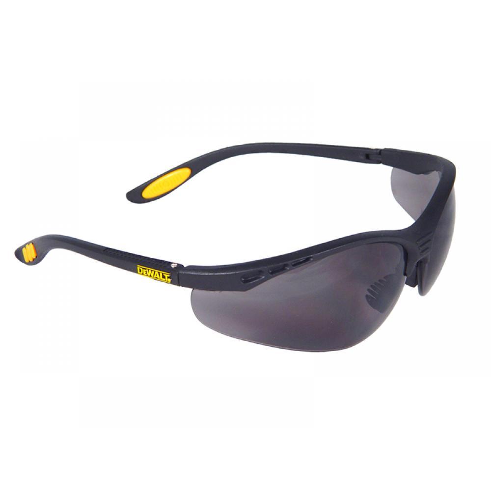 DeWalt Reinforcer Safety Glasses - Smoke DPG58-2D