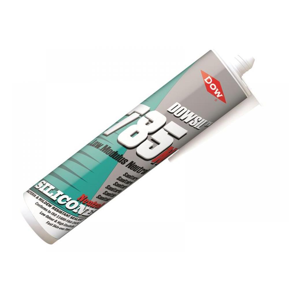 Dowsil 785N Silicone Sealant White 310ml