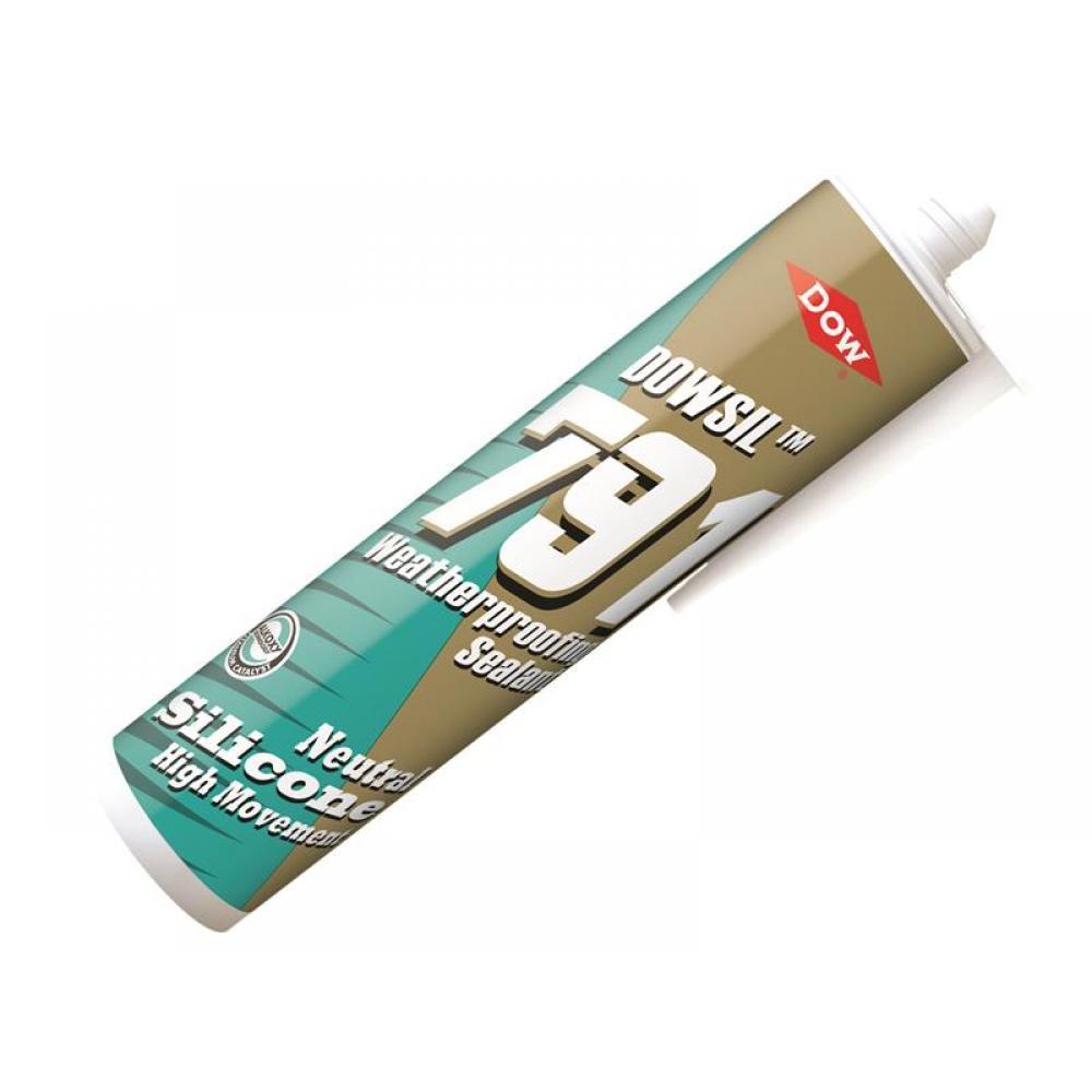 Dowsil 791 Silicone Sealant White 310ml