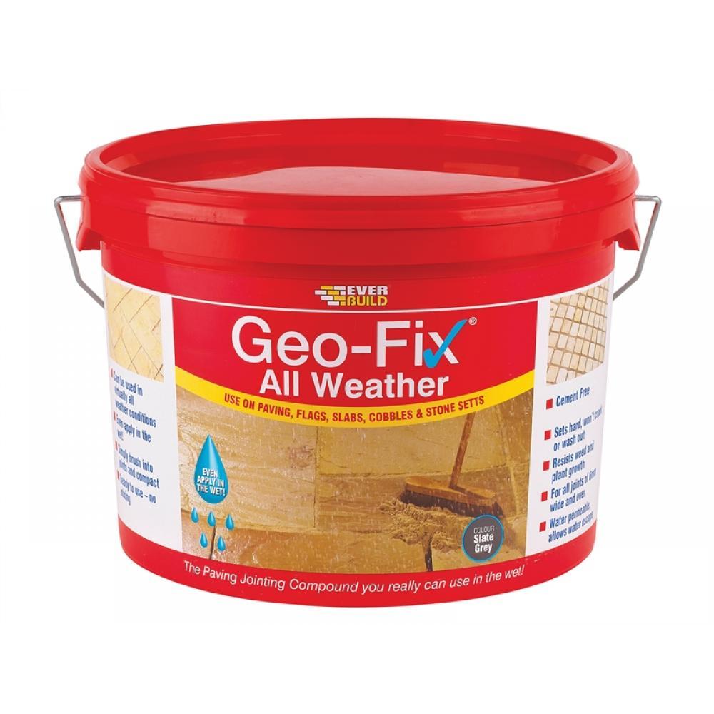 Everbuild Geo-Fix All Weather Grey 14kg GEOWET14GY