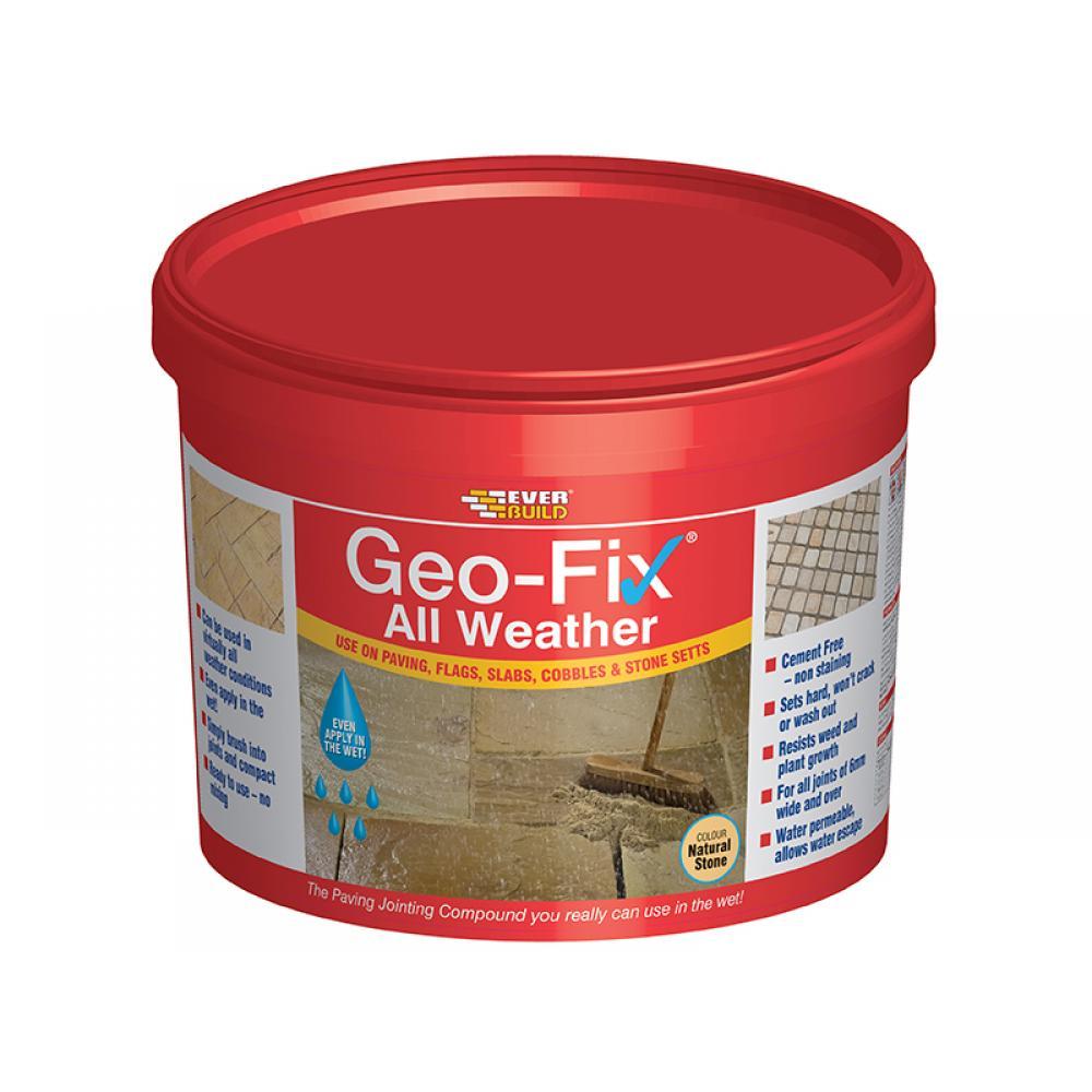 Everbuild Geo-Fix All Weather Stone 14kg GEOWET14STONE