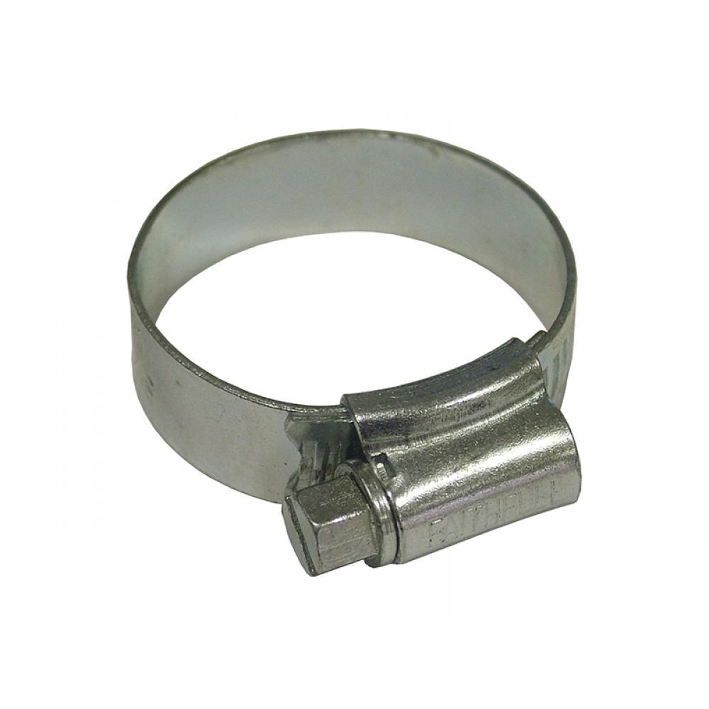 Faithfull 1A Hose Clip - Zinc MSZP 22 - 30mm LGA 12MM