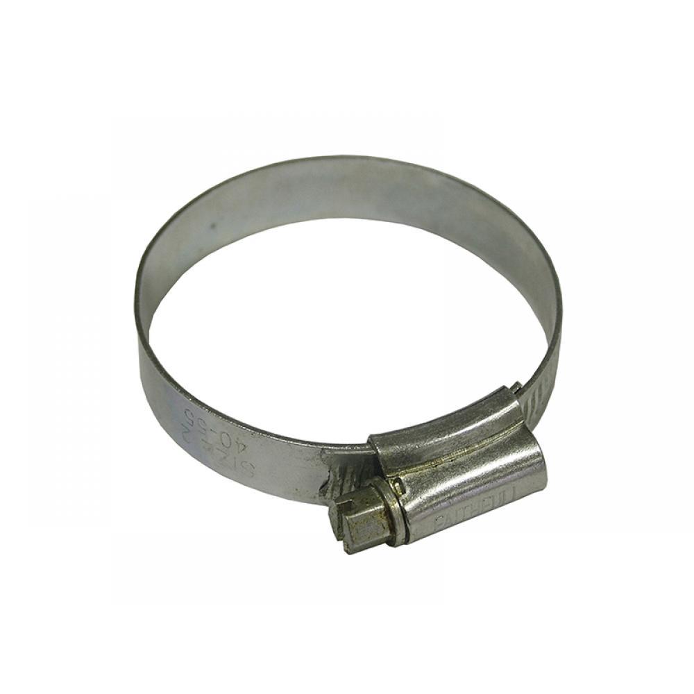 Faithfull 2X Hose Clip - Zinc MSZP 45 - 60mm LGA 12MM