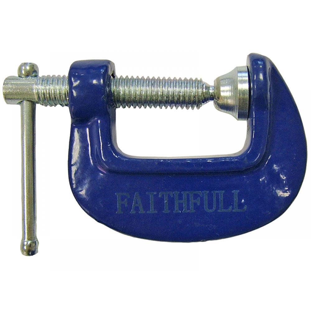 Faithfull Hobbyists Clamp 25mm (1in)