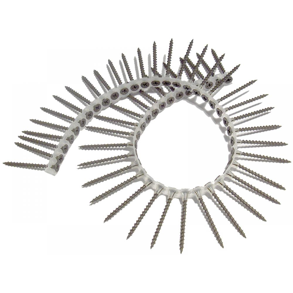ForgeFix Drywall Collated Screw Phillips Bugle Head SCT 3.9 x 50mm Box 1000